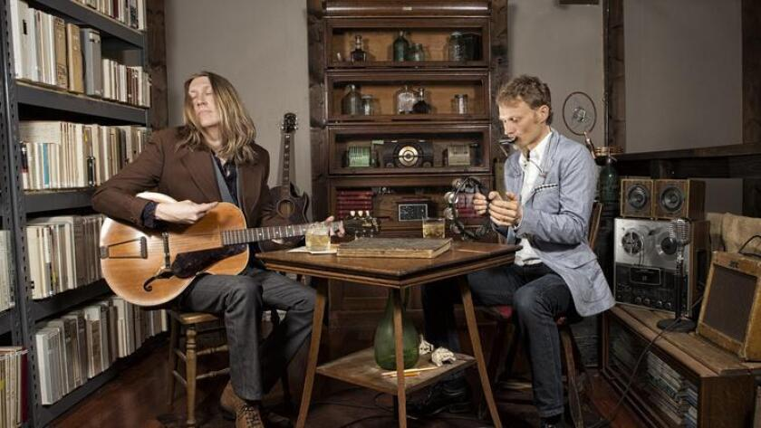 Oliver (left) and Chris Wood of The Wood Brothers. Courtesy photo