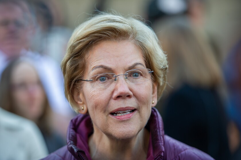 Sen. Elizabeth Warren announces she is dropping out of the presidential race.