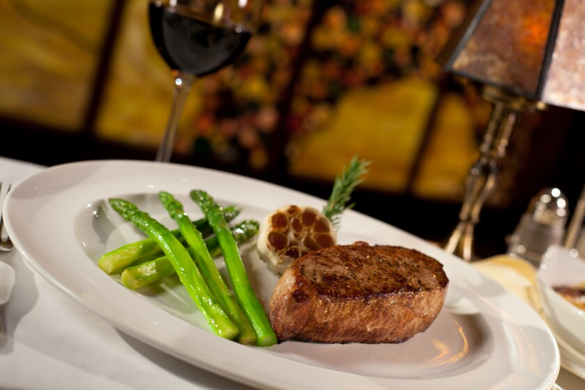 At Pechanga's Great Oak Steakhouse, one of only two AAA Four Diamond casino restaurants in the region, the tender filet mignon is always a sure bet.