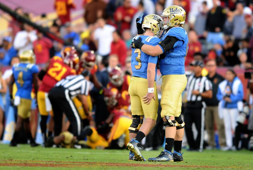 UCLA's Rosen takes blame for his worst game, doesn't give credit to USC defense