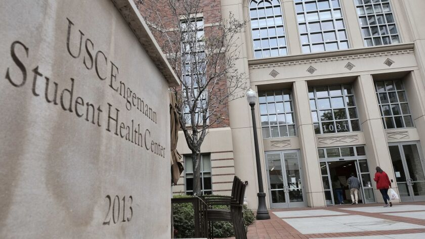 Thirty women sued USC Wednesday alleging mistreatment by Dr. George Tyndall, the longtime gynecologist at USC's Engemann Student Health Center.