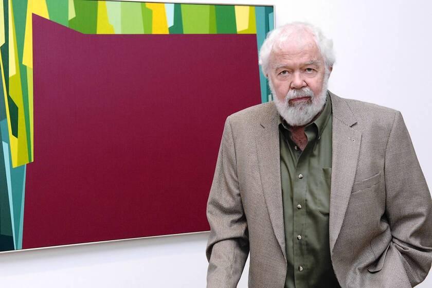 Karl Benjamin dies at 86; painter created colorful geometric works