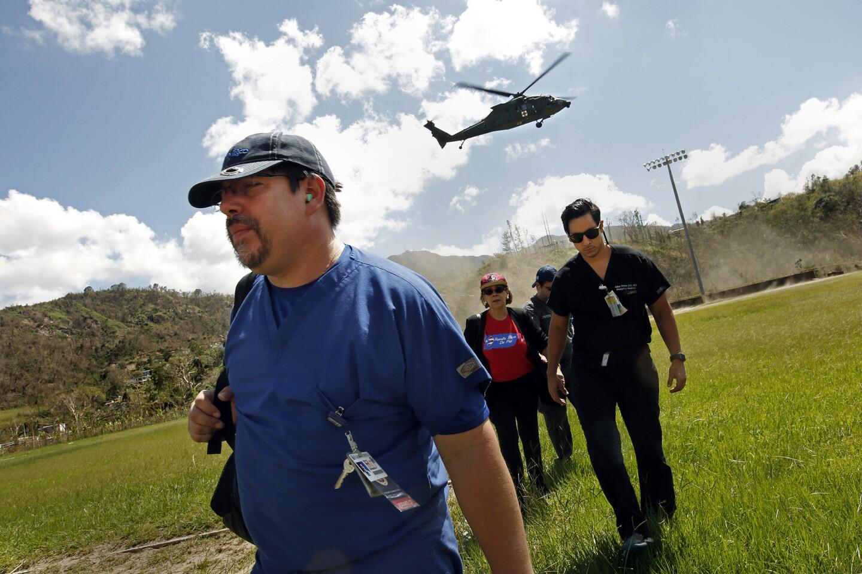 Medical aid reaches remote mountain town