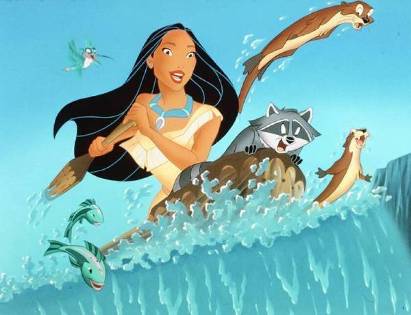 """Netflix's deal with Walt Disney Studios gives it nonexclusive streaming rights to more of Disney's older titles — including """"Dumbo,"""" """"Pocahontas"""" and """"Alice in Wonderland"""" — starting immediately. Above, a scene from """"Pocahontas."""""""