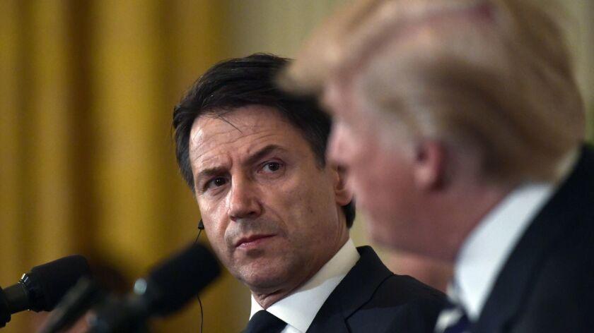 Donald Trump, Giuseppe Conte
