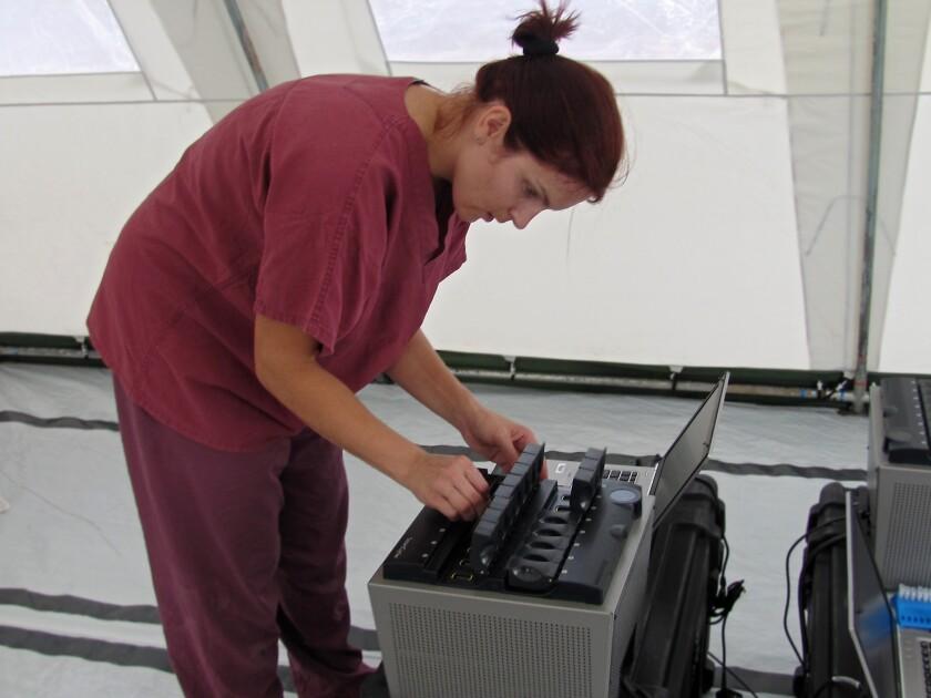 Ebola researcher Andrea Marzi