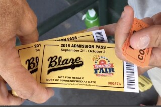 A night with the Bakersfield Blaze