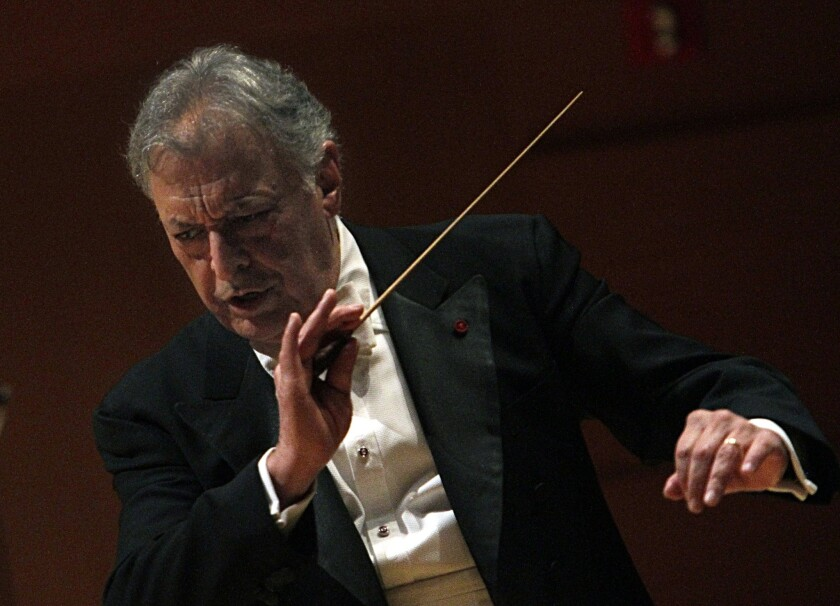 Conductor emeritus Zubin Mehta will be at the podium as part of the LA Phil's 100 birthday concert and gala.