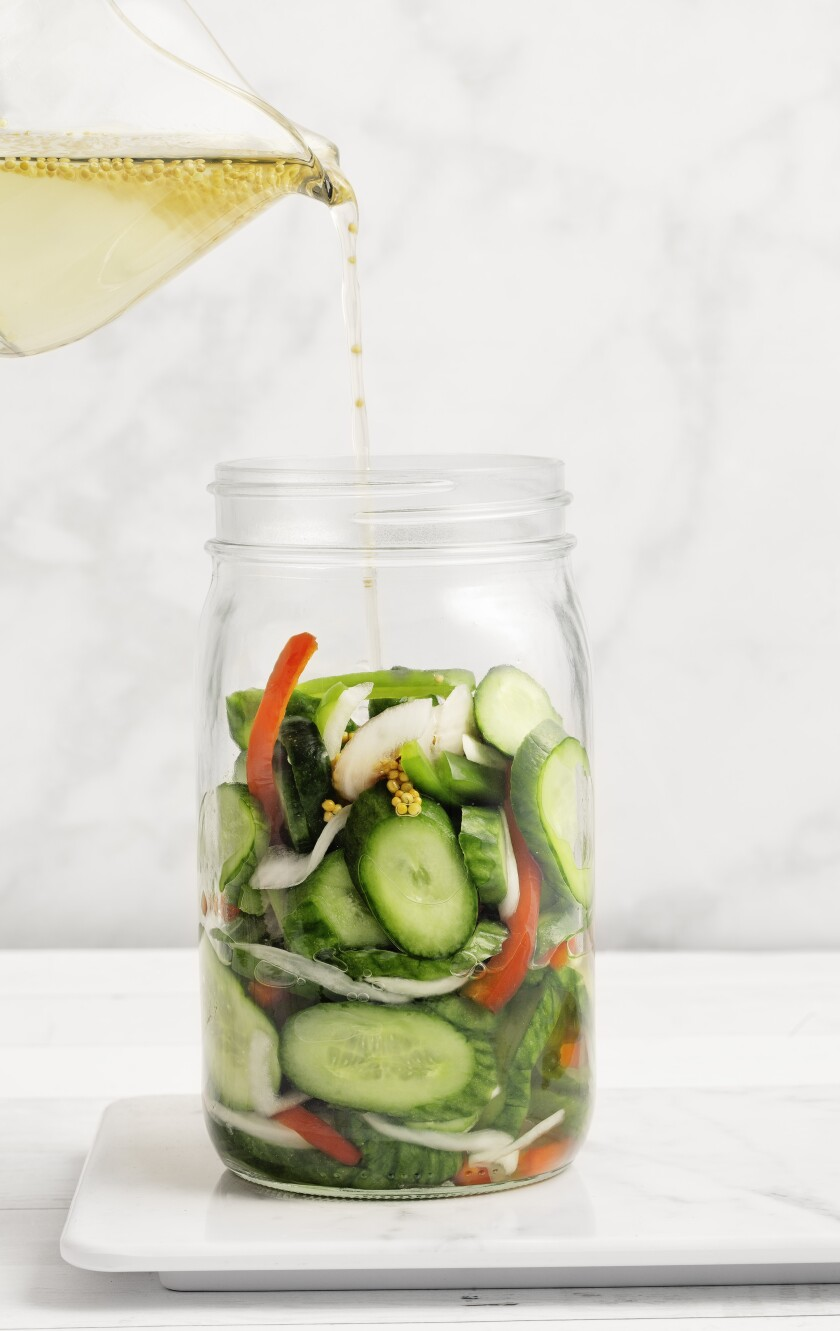 Quick Pickles: Summer in a Jar