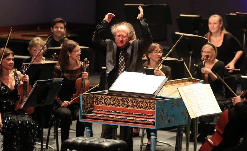 Review: Concertos take the lead at L.A. Phil, L.A. Chamber Orchestra