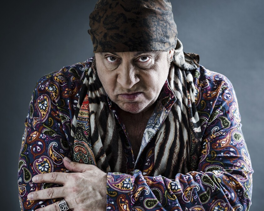 """FILE - This May 6, 2019 photo shows actor and musician Steven Van Zandt in New York. Van Zandt's memoir """"Unrequited Infatuations,"""" released on Tuesday, Sept. 28. (Photo by Christopher Smith/Invision/AP, File)"""