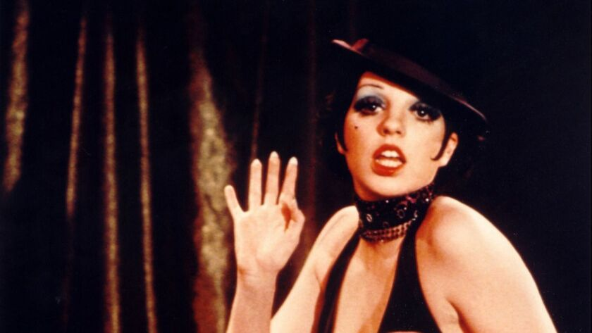 "In ""Cabaret,"" Liza Minnelli plays an expatriate American in Berlin in the 1972 movie by Bob Fosse, considered a milestone in the history of the film musical."