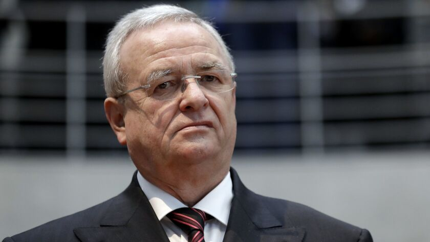 Volkswagen ex-CEO Martin Winterkorn is the highest-ranking person to be charged in the diesel emissions cheating investigation, but he's unlikely to ever face trial in the United States.