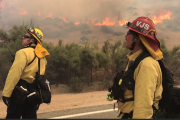 Wildfire burning rapidly near Jamul