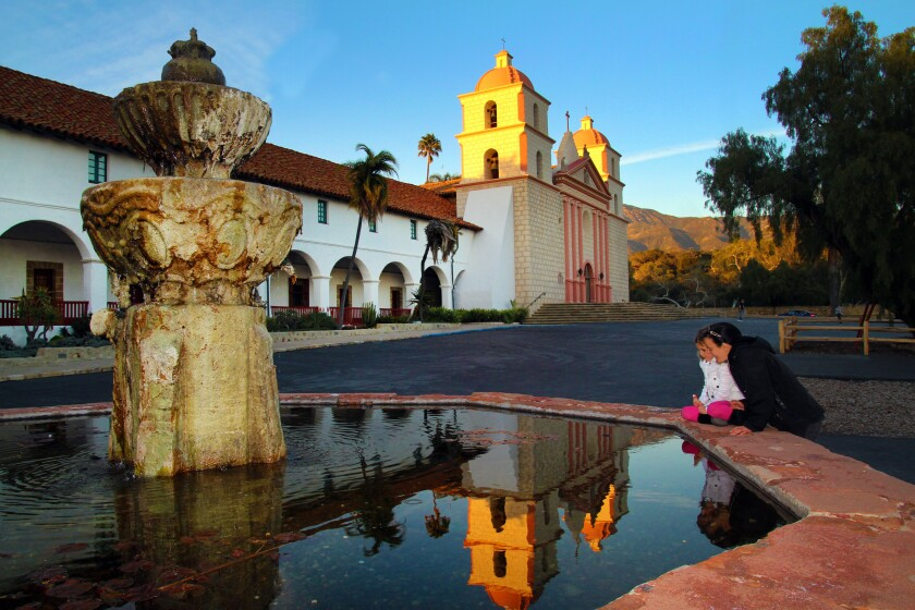 Santa Barbara's Old Mission remains one of the most visited attractions in the city.