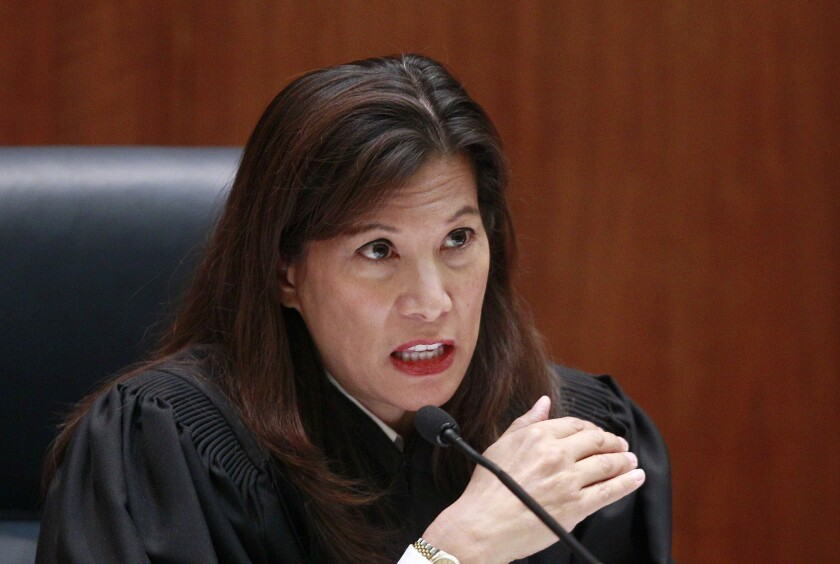 Chief Justice Tani Cantil-Sakauye leads the state Judicial Council, which on April 6 reduced required bail to $0 for defendants accused of designated crimes during the coronavirus pandemic emergency.