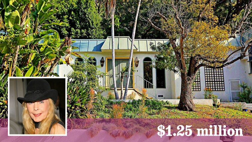 Stella Stevens has sold her swinging '60s pad in the Beverly Crest area for $1.25 million.