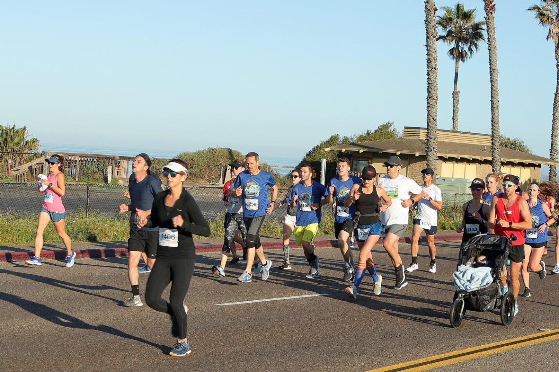 Encinitas Half Marathon and 5K