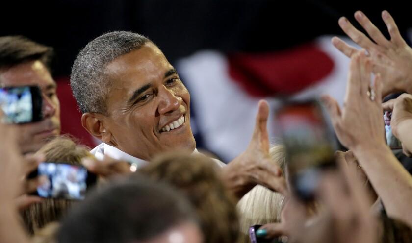 President Obama in Kansas City