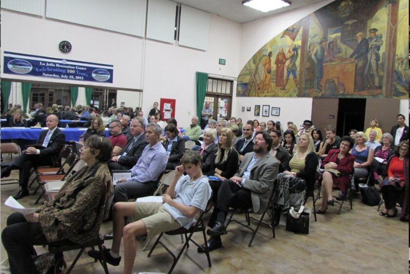 About 50 people attended the La Jolla Town Council's 'State of La Jolla' event.