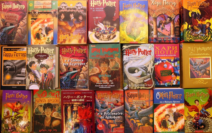 Over 550 Harry Potter First Editions Go Up For Auction