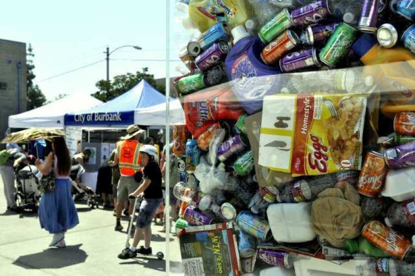 Burbank Recycling Center >> Burbank Recycle Center Celebrates Earth Day Los Angeles Times
