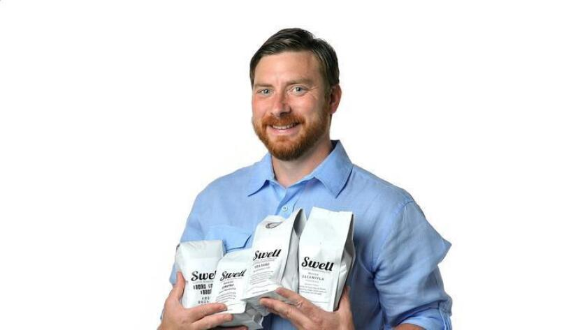 John Vallas, CEO/founder of The Swell Cafe. (Rick Nocon)