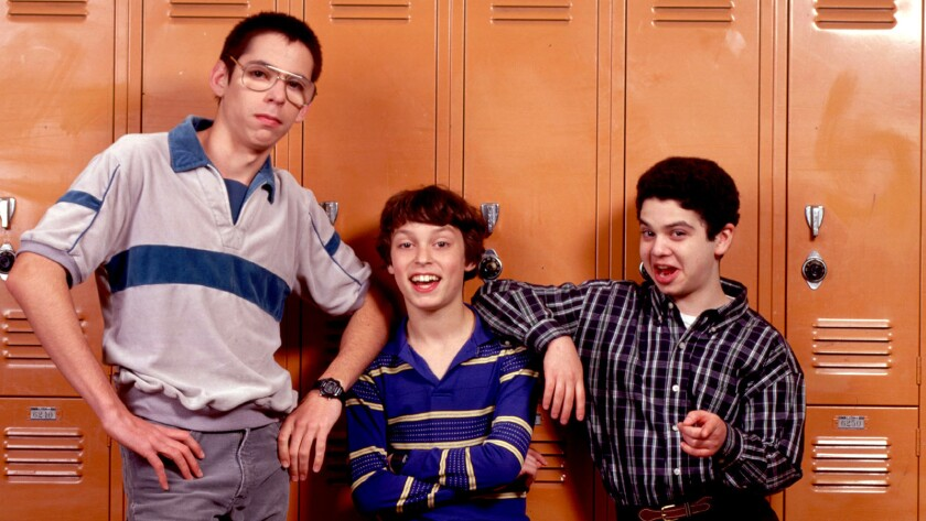 """Martin Starr, left, John Daley and Samm Levine in the NBC series """"Freaks and Geeks."""""""