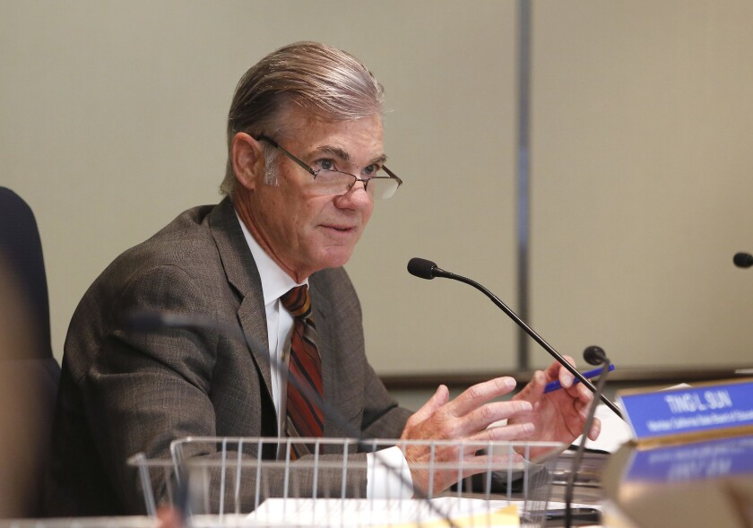 Tom Torlakson, the superintendent of public instruction, will be acting governor in California during the Democratic National Convention.