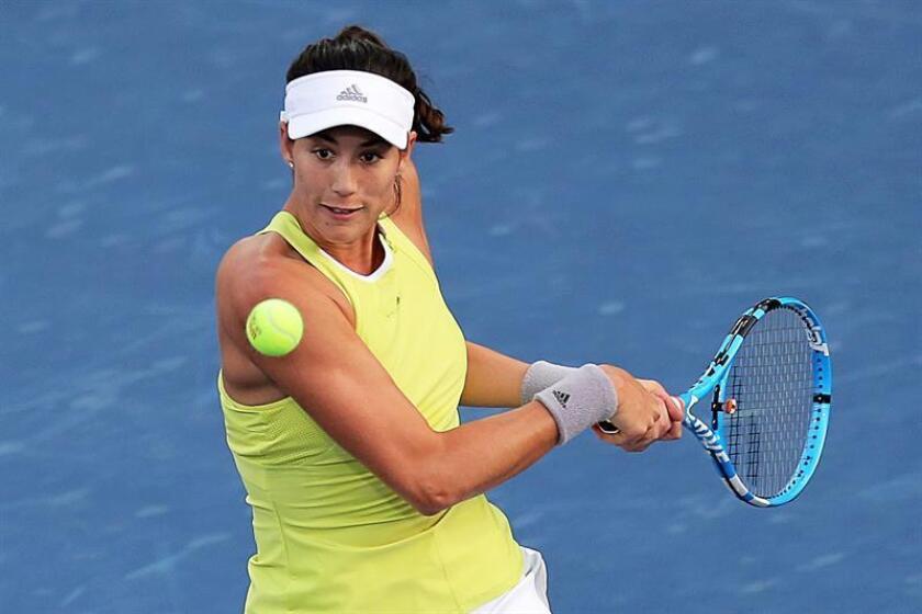 La tenista española Garbiñe Muguruza. EFE/Archivo
