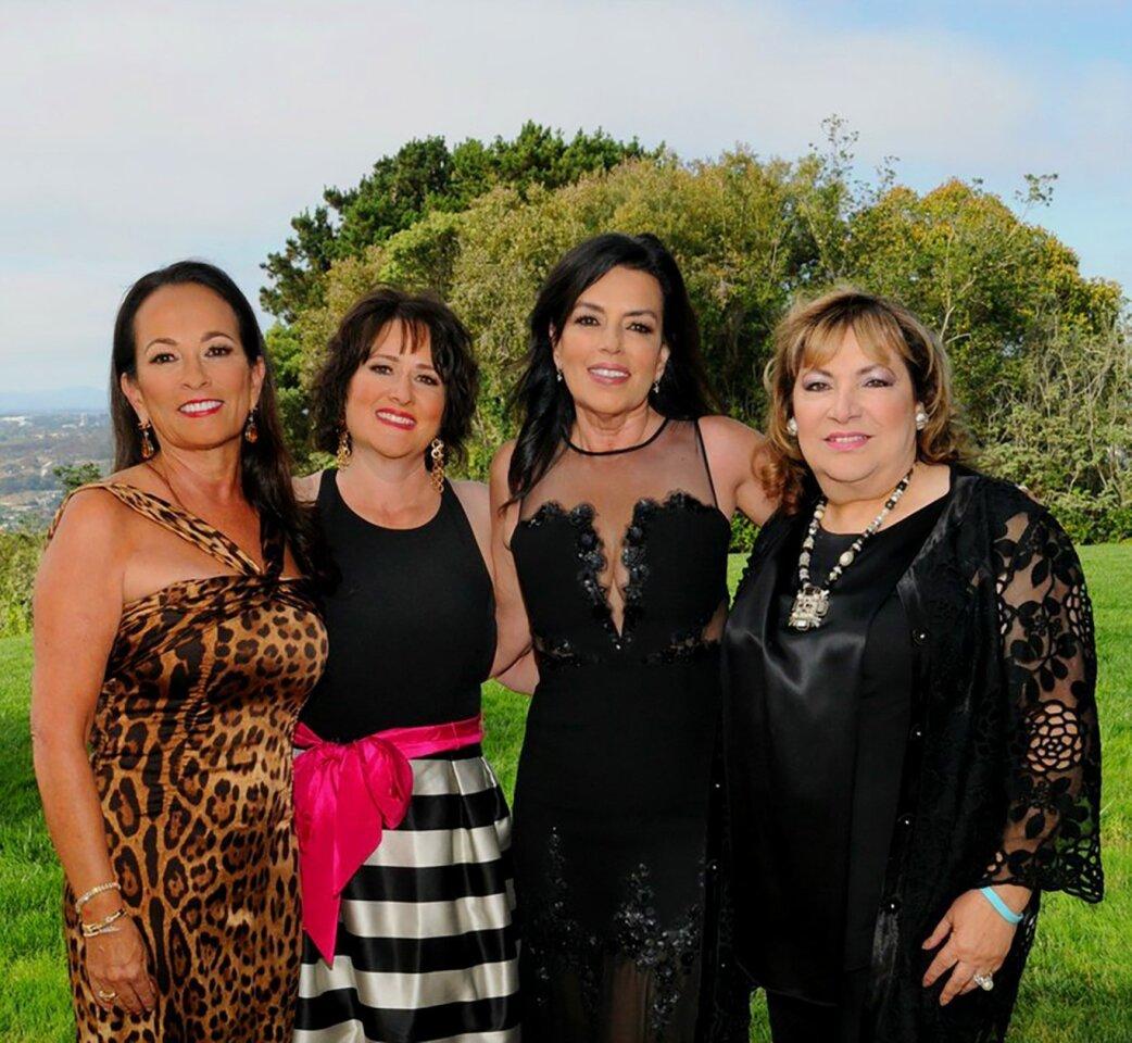 Host Joan Waitt with P2K CEO Tonya Torosian and event co-chairs Deborah Marengo and May Zawaideh