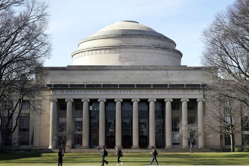 The Massachusetts Institute of Technology campus in Cambridge.