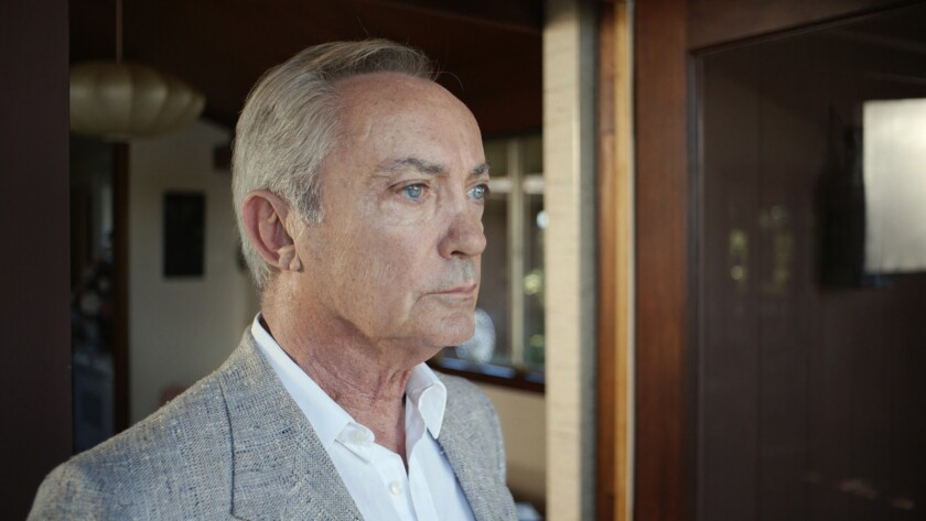 """Udo Kier in the movie """"Courier-X."""""""