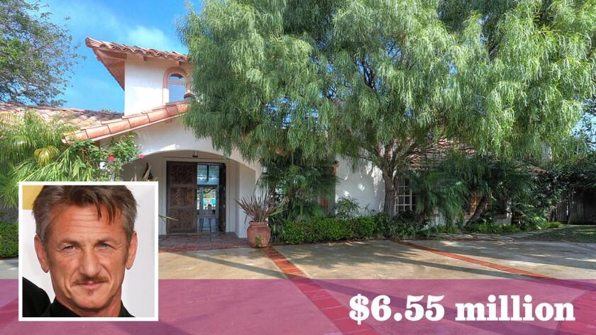 Sean Penn has listed his Malibu retreat for sale at $6.55 million.