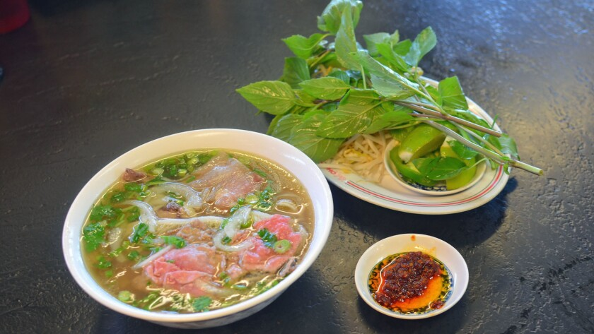 Phở from Pho 79 in Garden Grove.