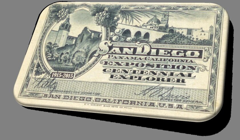 The Explorer's Pass for multi-museum admission in Balboa Park will feature an image from the 1915 Panama-California Exposition.