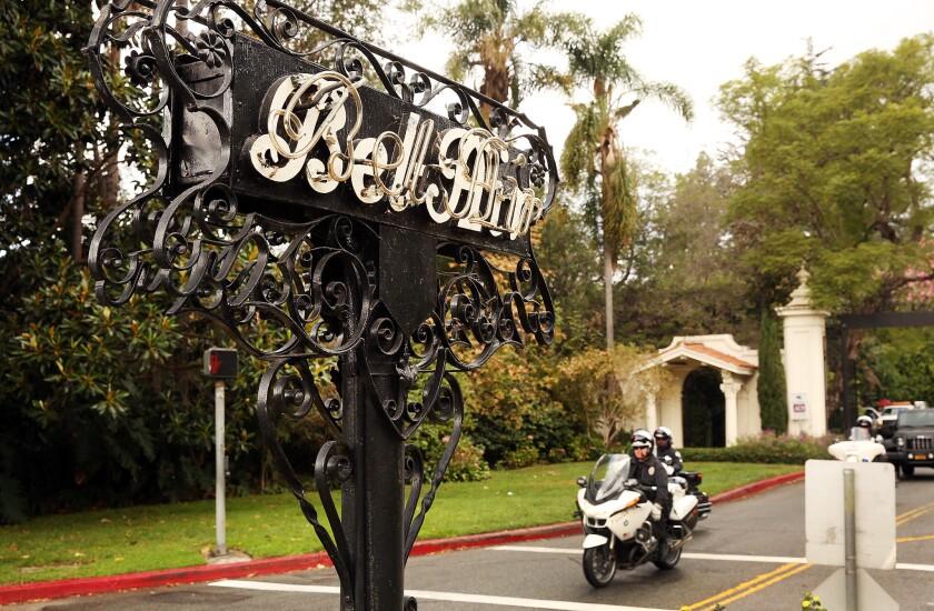 Bel-Air sign