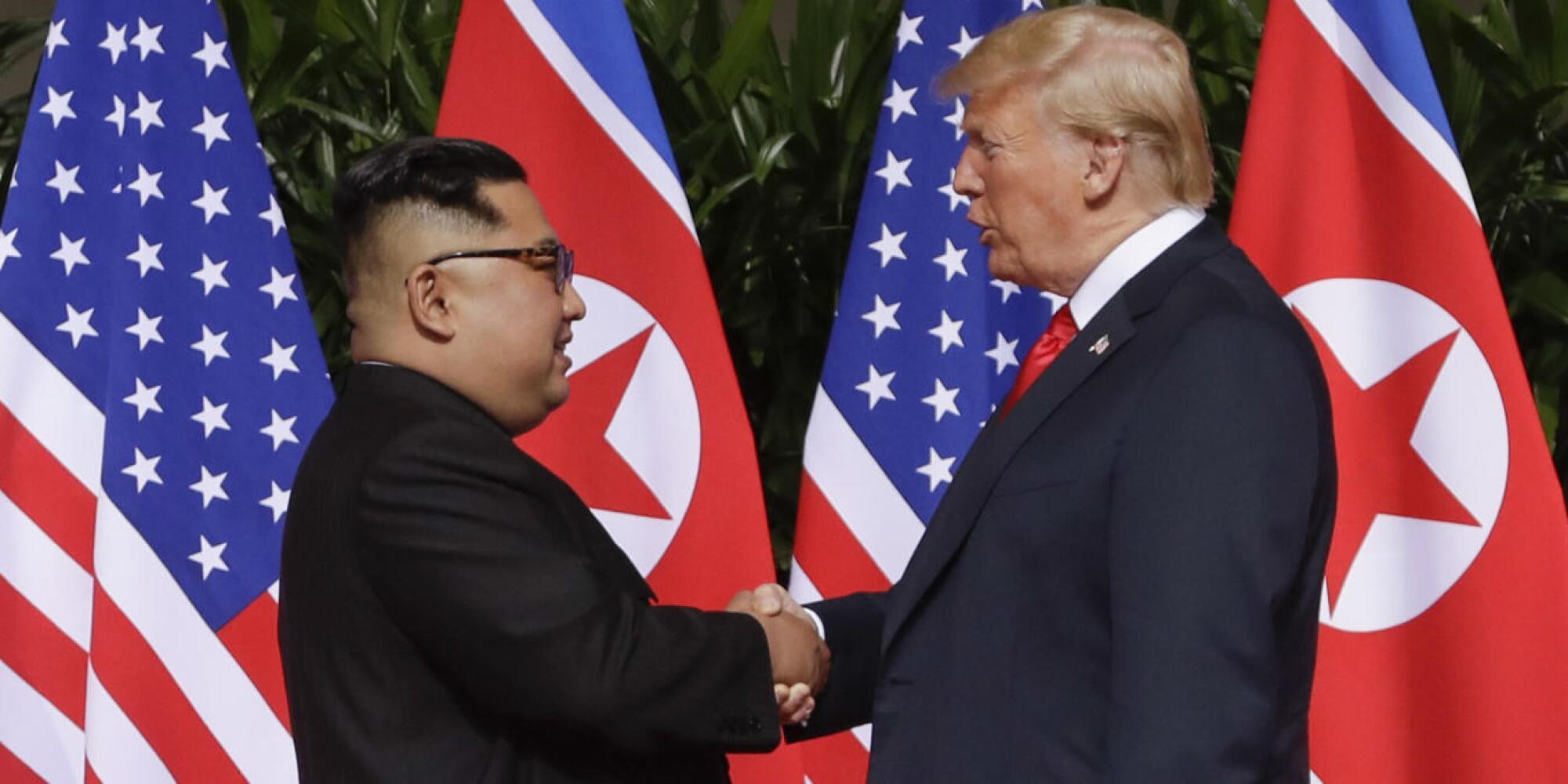 Singapore summit: Historic meeting between President Trump and North Korea's Kim Jong Un