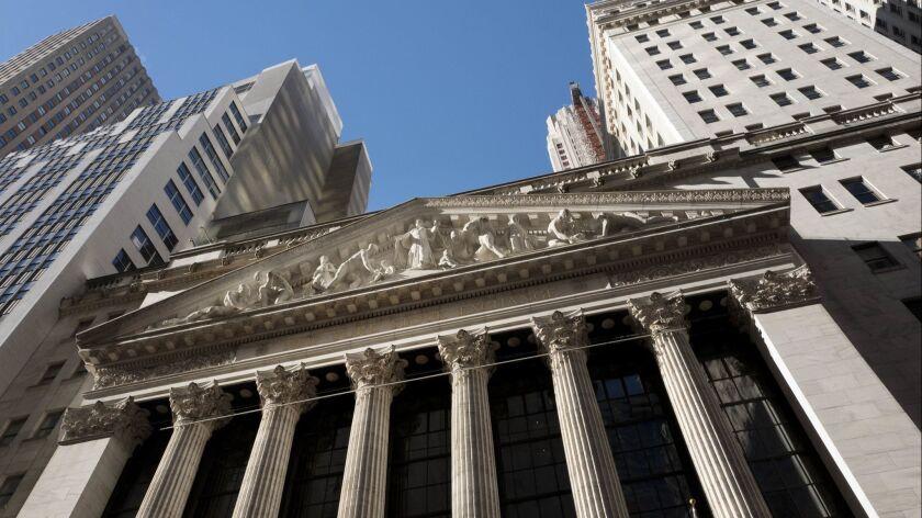 Stocks on the New York Stock Exchange fell 3.1% on Wednesday.