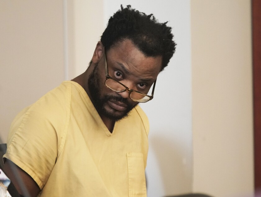 Ayoola A. Ajayi appears in 3rd District Court in Salt Lake City on Dec. 20, 2019.