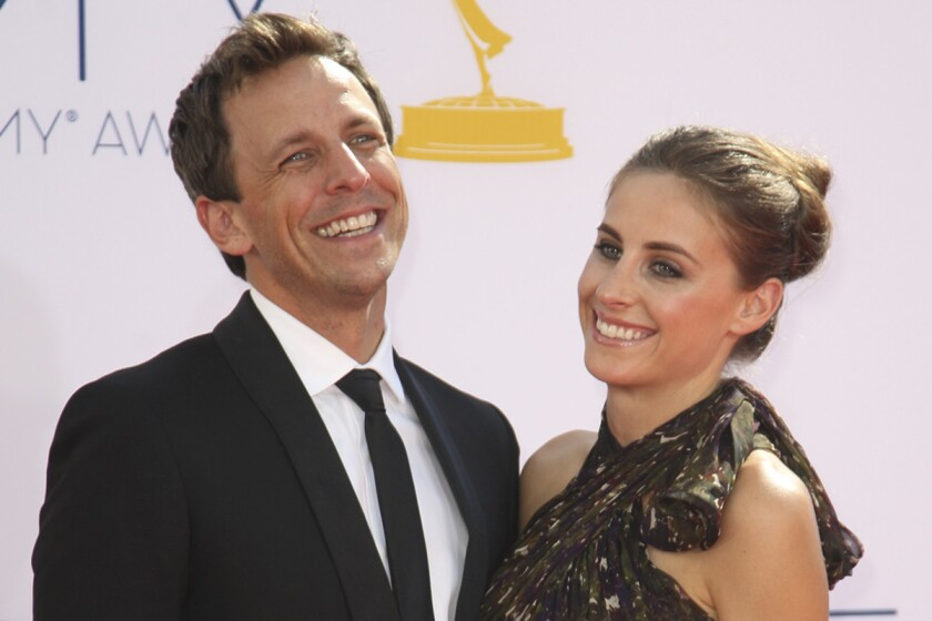 Seth Meyers engaged to girlfriend Alexi Ashe