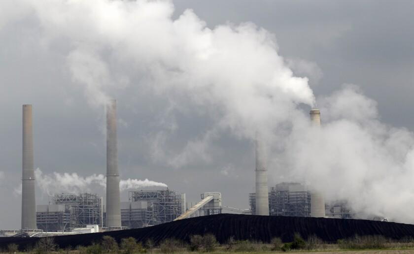 Coal pollution Texas