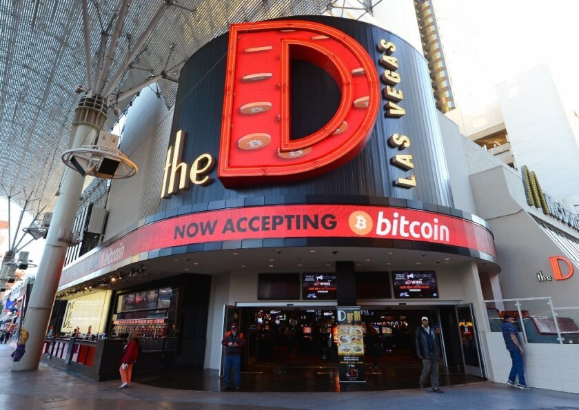 Better make sure they're the real thing: A Vegas casino bids for the bitcoin trade.