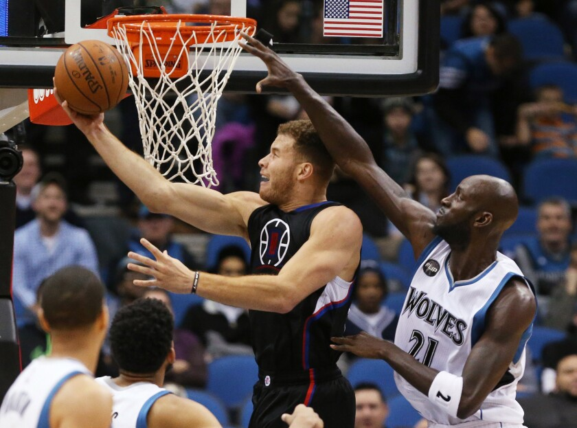 Clippers beat Minnesota Timberwolves, 110-106