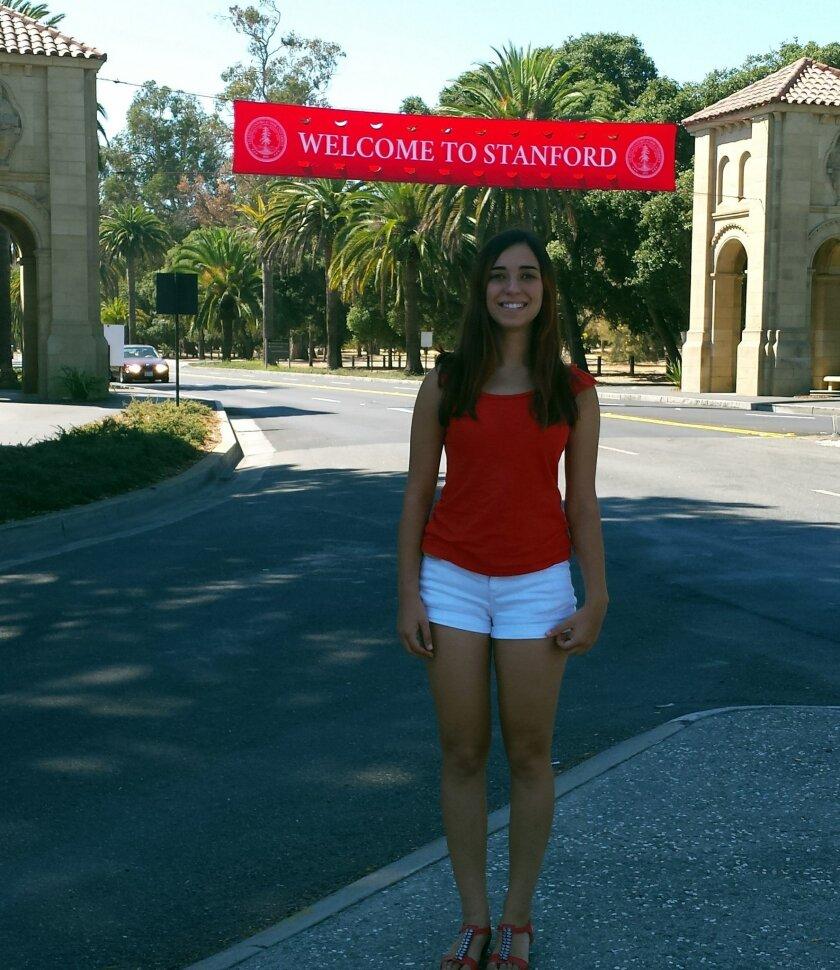 2014 Don Diego Scholar Noa Glaser at Stanford.