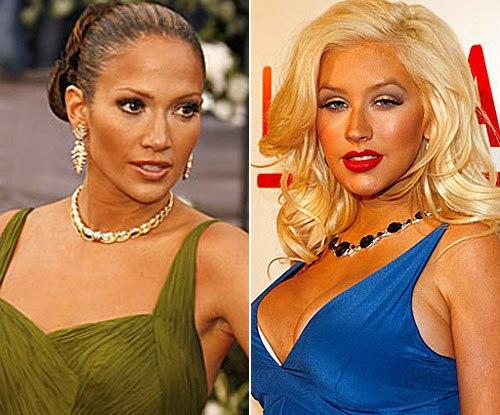 Jennifer Lopez, Christina Aguilera