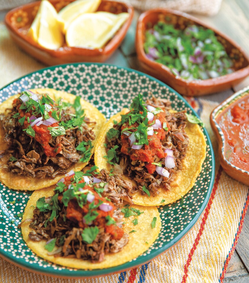 They don't just look like meaty carnitas, they taste like them too.