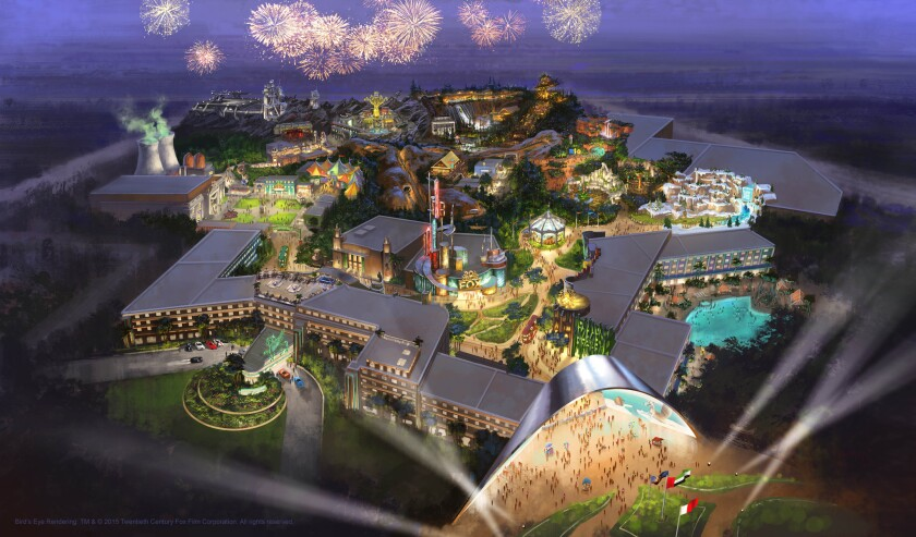 20th Century Fox is teaming up with Al Ahli Holding Group to build a theme park in Dubai, set to open in 2018.