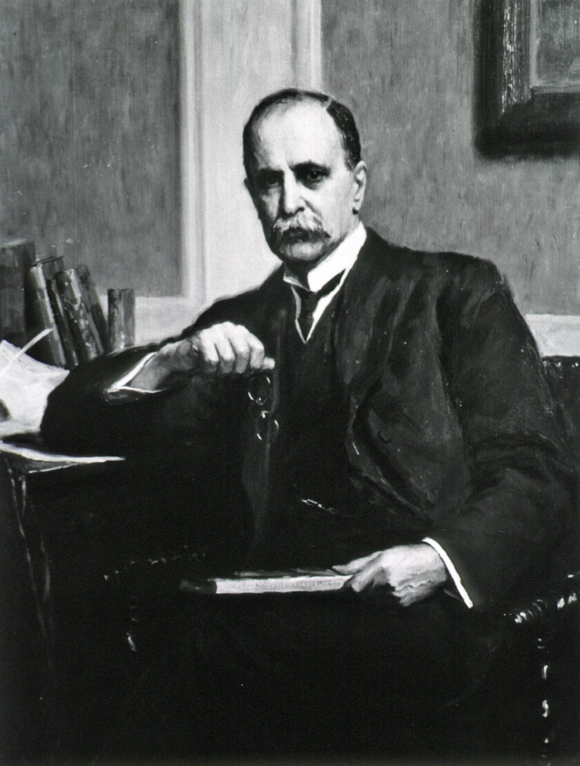 Sir William Osler, a Canadian physician and one of the four founding professors of Johns Hopkins Hospital.