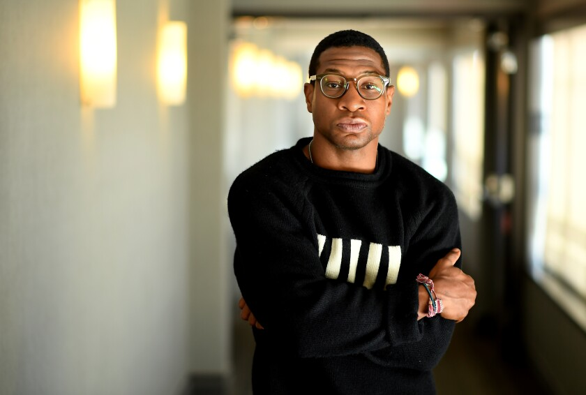 """Actor Jonathan Majors, here at AKA Beverly Hills, plays a sensitive artist in """"Last Black Man in San Francisco."""""""